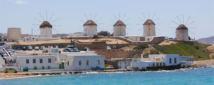 Seven days with a hop to Mykonos