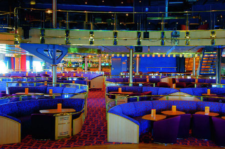 main lounge are of the cruise ship