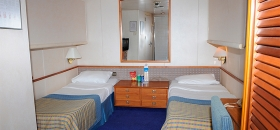 Cruises in the Aegean Louis Cristal Inside Cabins