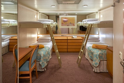 Cruises in the Aegean Celestyal Majesty Inside Cabins