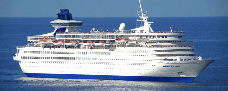 Cruise the Aegean on board the Olympia