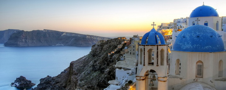Seven days with a hop to Santorini