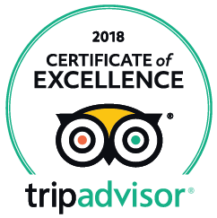 cerificate of excellence for our tours 2018
